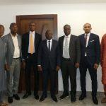 Entretien du Ministre du Budget avec le Directeur Général d'ECOBANK Guinée