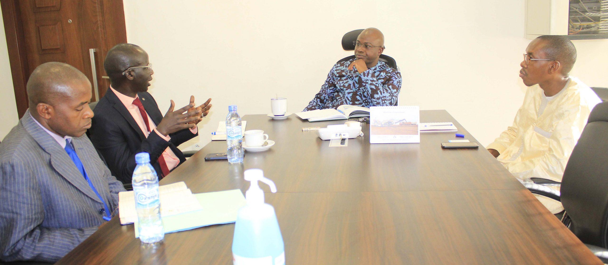 Le Ministre du Budget reçoit le Représentant-Directeur Pays du Programme Alimentaire Mondial en Guinée