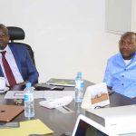 Présentation au Ministère du Budget de la solution pour la digitalisation de la vente des vignettes en Guinée