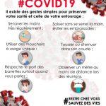 #Covid 19 : Restez chez vous # Sauvez des vies