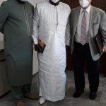 Réunion de travail entre Monsieur le Secrétaire Général du Ministère du budgetet le Président-Directeur Général de Africa Global Schaffer