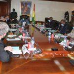Le Ministre du Budget participe à la réunion semestrielle à la réunion semestrielle pour le Centre d'Entraînement aux Opérations de Maintien de la Paix (C.E.O.M.P)