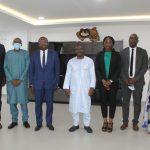 Le Ministre du Budget reçoit une délégation du Cabinet Deloitte