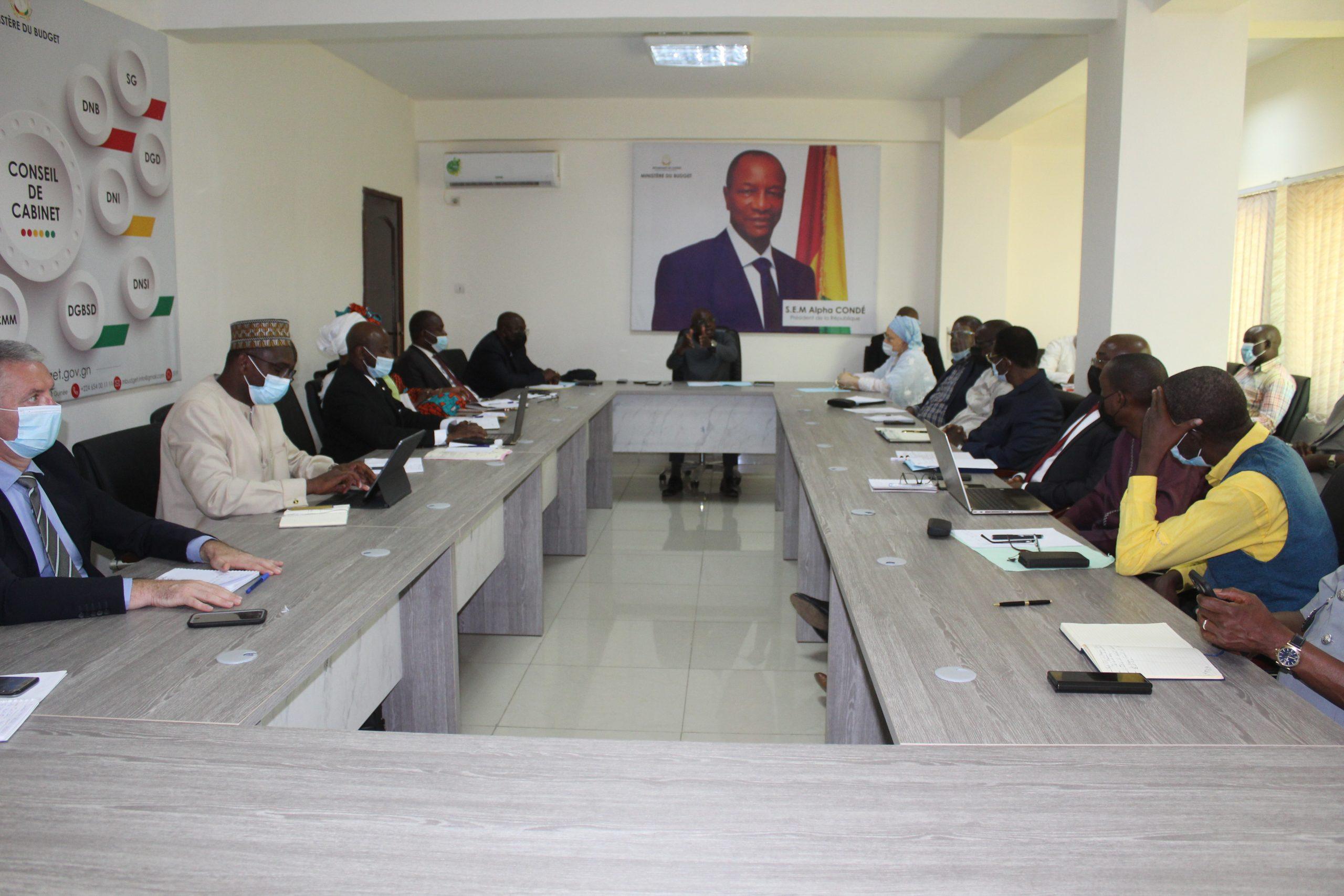 Compte rendu de la réunion de Cabinet Hebdomadaire du Ministère du Budget de ce lundi 19 avril 2021