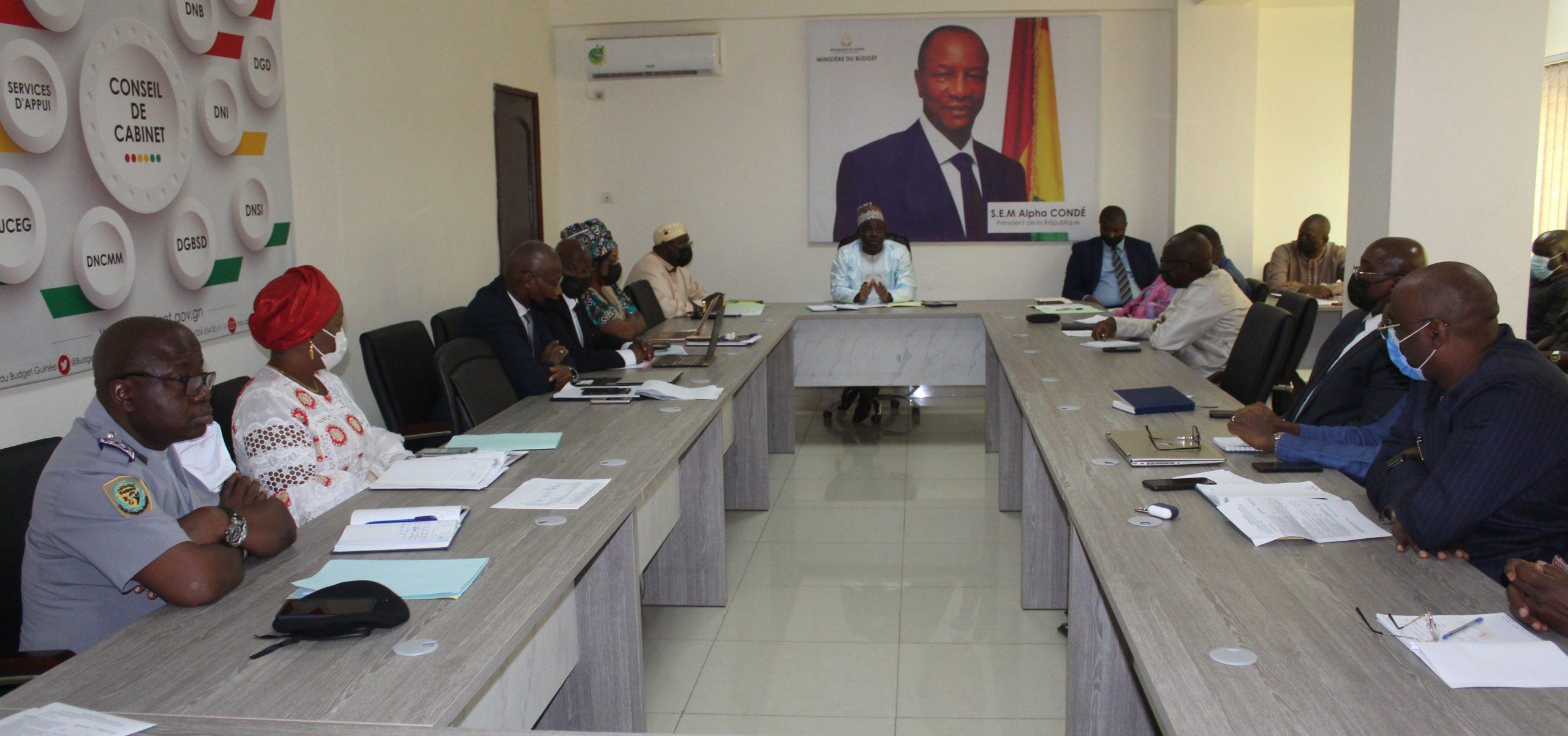 Compte rendu de la réunion de Cabinet Hebdomadaire du Ministère du Budget de ce lundi 26 avril 2021